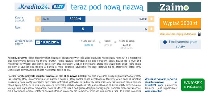 Pożyczka Na Raty Kredito24