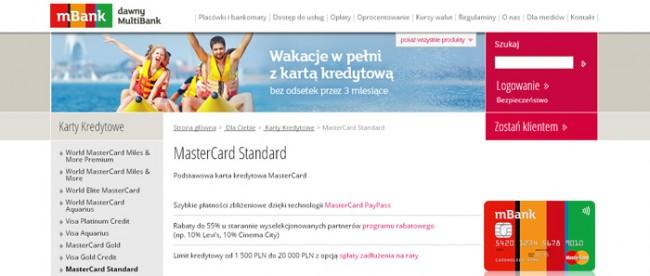 Karta Kredytowa mBank