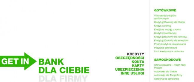 Kredyt gotówkowy Getin Bank