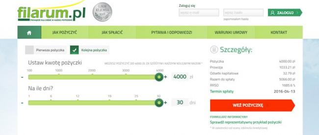 Filarum 4000 zł