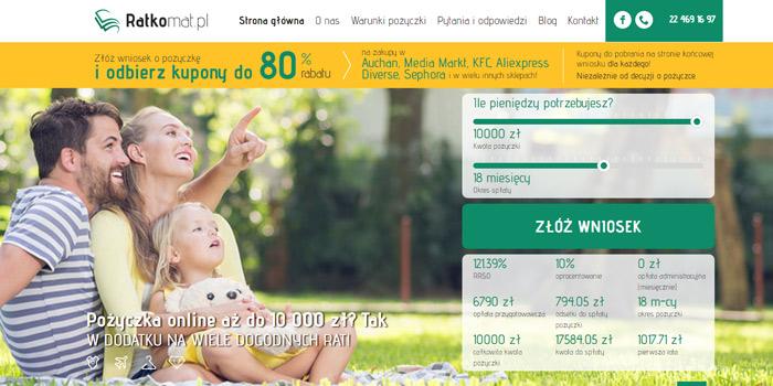 ratkomat pożyczki udzielane przez internet