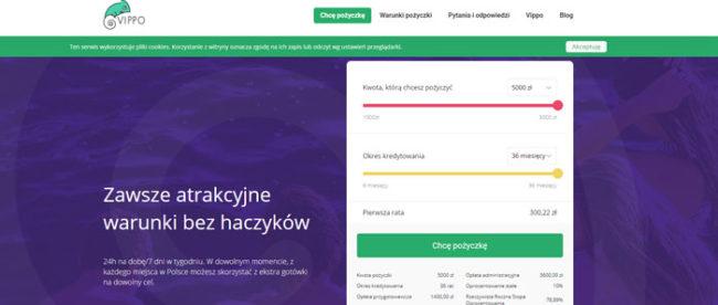 Vippo pożyczki online