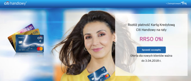 Karta kredytowa 0%