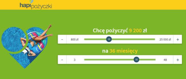 Hapi Pożyczki Pozabankowe 25 000 zł