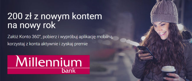 200 zł z nowym kontem na nowy rok