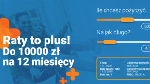 pożyczka online Rata na Plus