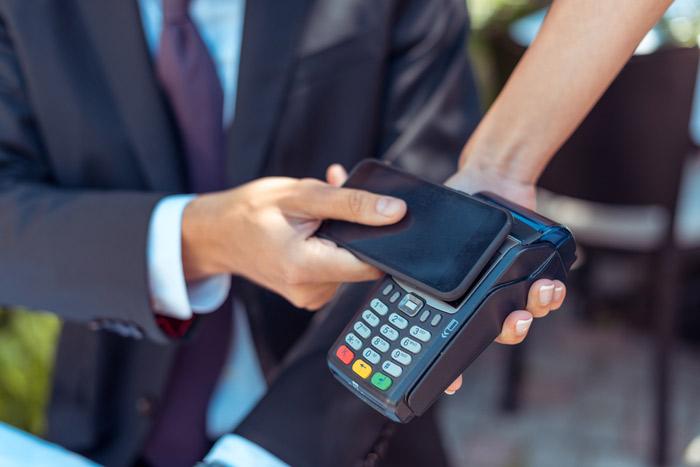 płatność zbliżeniowa - transakcja odrzucona