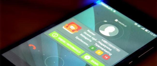Blokowanie połączeń w aplikacji Odebrać Telefon