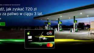 Karta kredytowa Citibank BP Motokarta