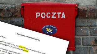 przetwarzanie danych przez Pocztę Polską a wybory