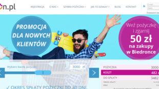 bon 50 zł Biedronka