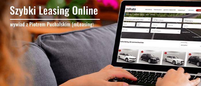 Szybki Leasing Online w mLeasing